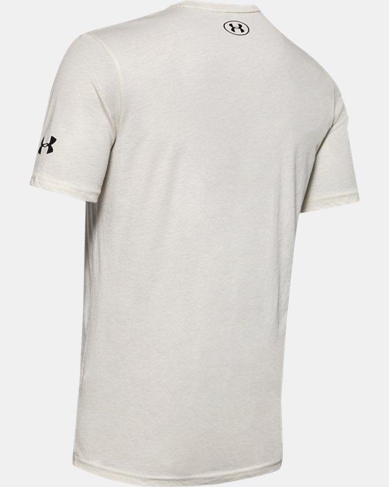 Men's Project Rock Mahalo Short Sleeve, White, pdpMainDesktop image number 5