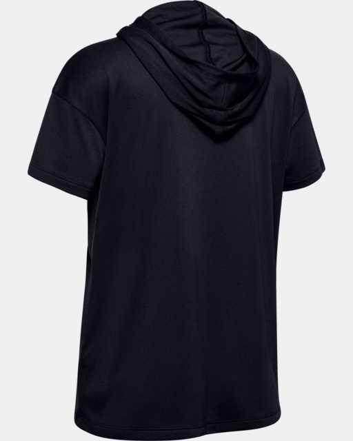 Girls' UA Tech™ Short Sleeve Hoodie