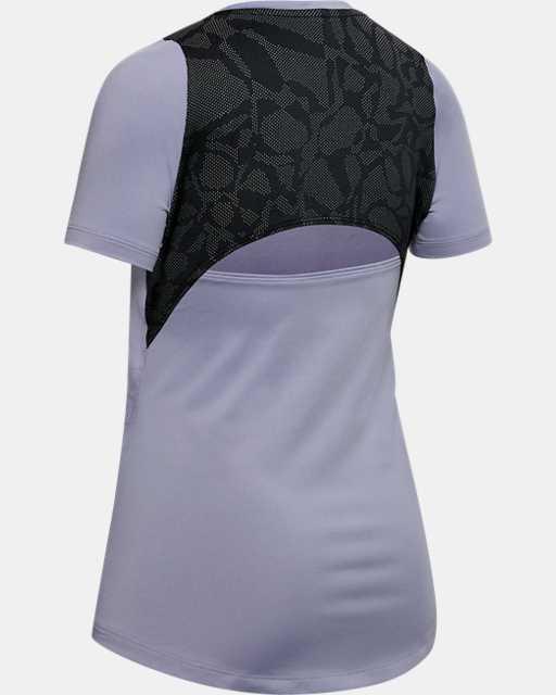 Girls' HeatGear® Short Sleeve