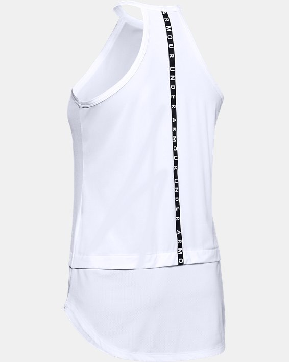 Women's UA Armour Sport Tank, White, pdpMainDesktop image number 5