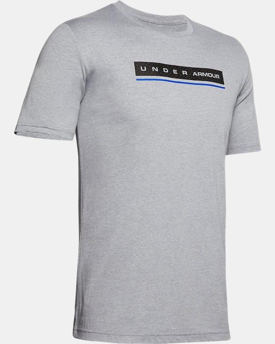Men's UA Reflection Short Sleeve, Gray, pdpMainDesktop image number 4