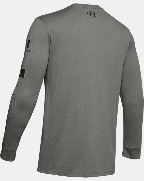 Men's UA Multi Long Sleeve, Green, pdpMainDesktop image number 4
