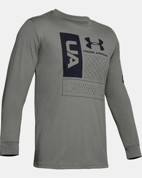 Men's UA Multi Long Sleeve, Green, pdpMainDesktop image number 3
