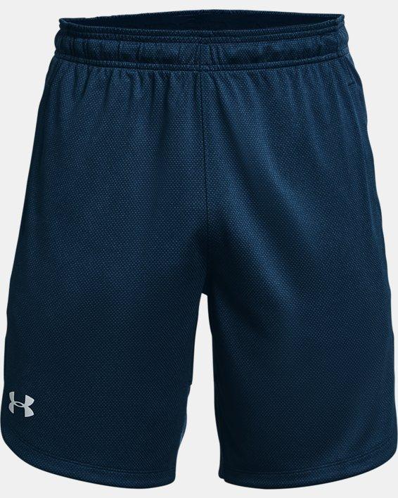 Men's UA Knit Performance Training Shorts, Navy, pdpMainDesktop image number 4