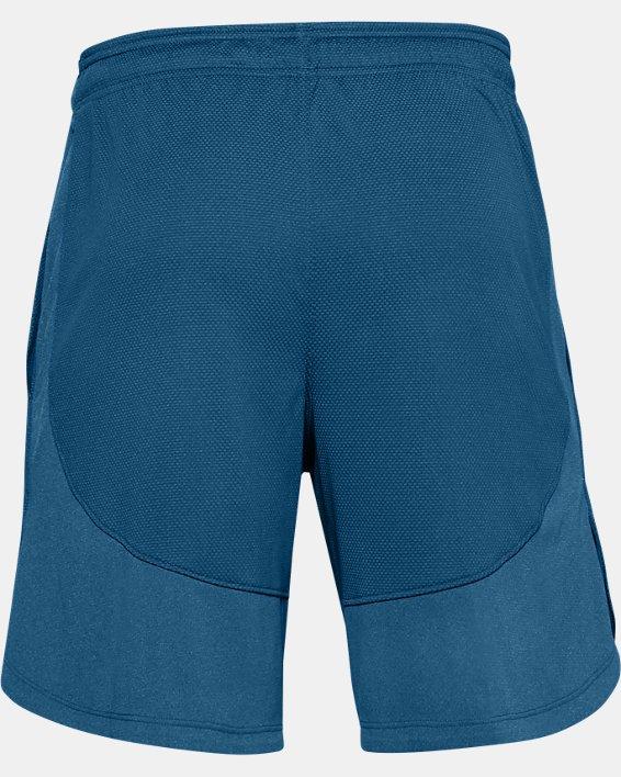 Men's UA Knit Performance Training Shorts, Blue, pdpMainDesktop image number 5