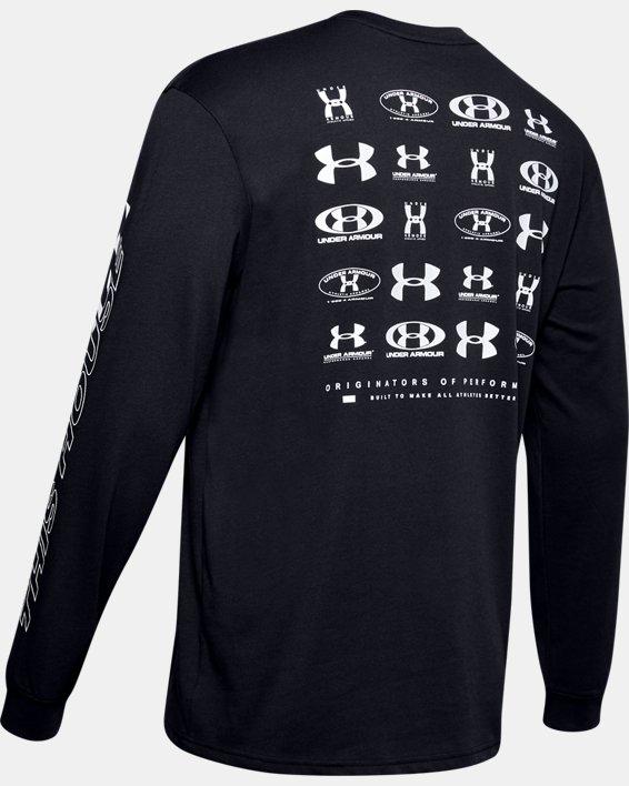 Mens's UA PTH Long Sleeve, Black, pdpMainDesktop image number 5