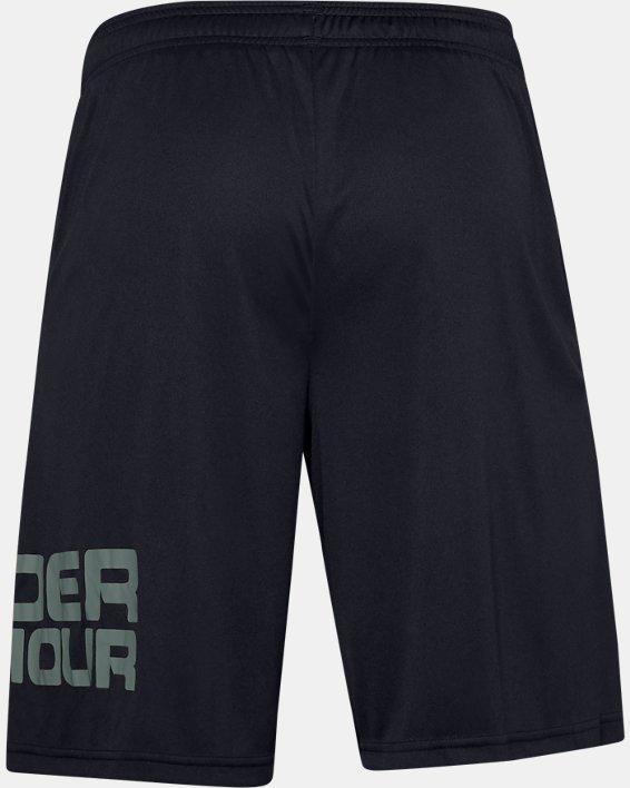 Men's UA Tech™ Wordmark Shorts, Black, pdpMainDesktop image number 1