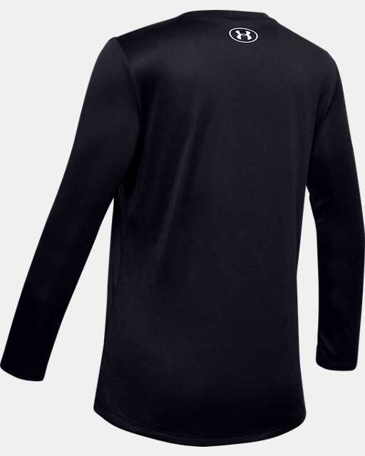 Girls' UA Big Logo Long Sleeve