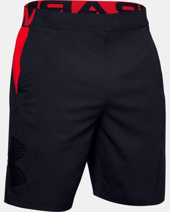 Men's UA Vanish Woven Graphic Shorts, Black, pdpMainDesktop image number 4
