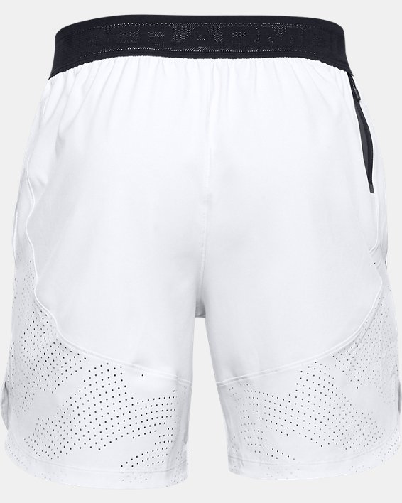 Herren UA Shorts aus Stretchgewebe, Gray, pdpMainDesktop image number 4