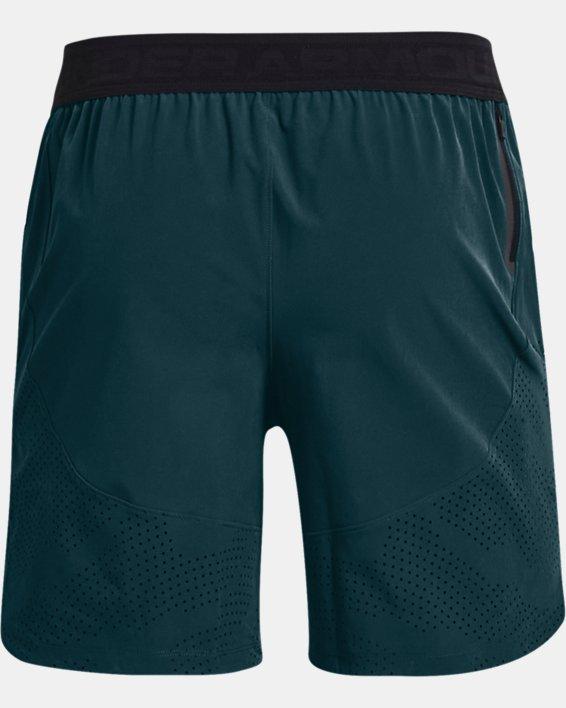 Herren UA Shorts aus Stretchgewebe, Blue, pdpMainDesktop image number 4