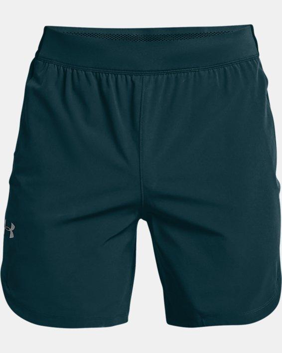 Herren UA Shorts aus Stretchgewebe, Blue, pdpMainDesktop image number 3