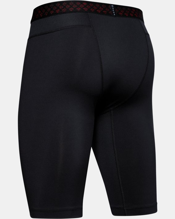 Men's UA RUSH™ HeatGear® Long Compression Shorts, Black, pdpMainDesktop image number 5