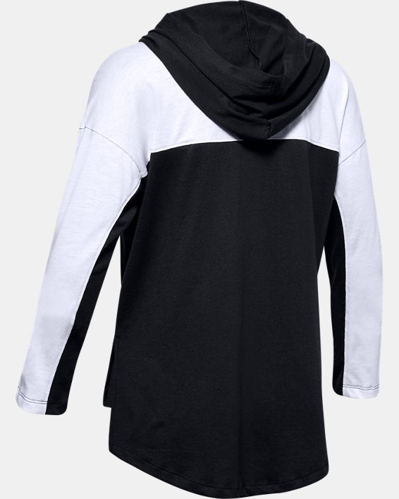 Girls' UA Favorite Jersey Hoodie, Black, pdpMainDesktop image number 1