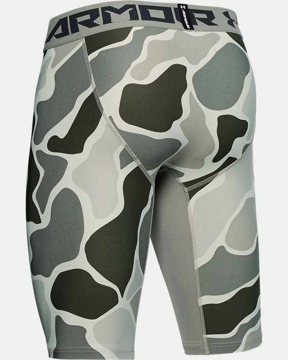 Short HeatGear® Armour Extra Long Printed pour homme, Green, pdpMainDesktop image number 5