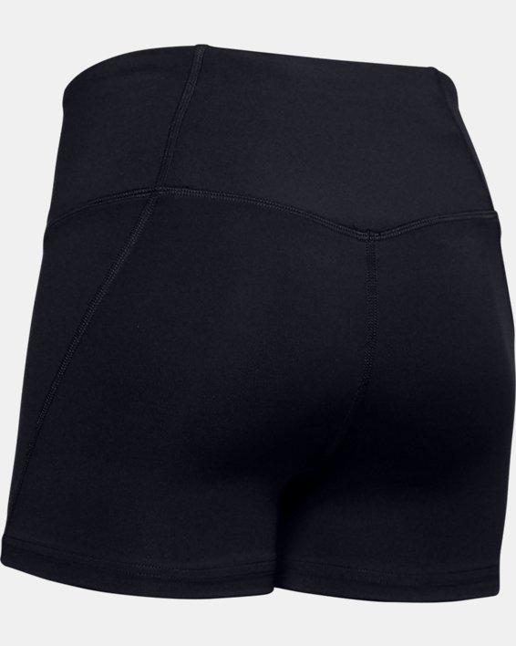Women's UA RUSH™ Shorty, Black, pdpMainDesktop image number 4