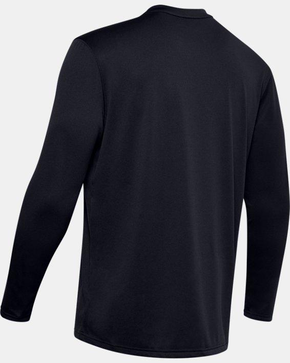 Men's UA Tactical V-Neck Long Sleeve, Black, pdpMainDesktop image number 5