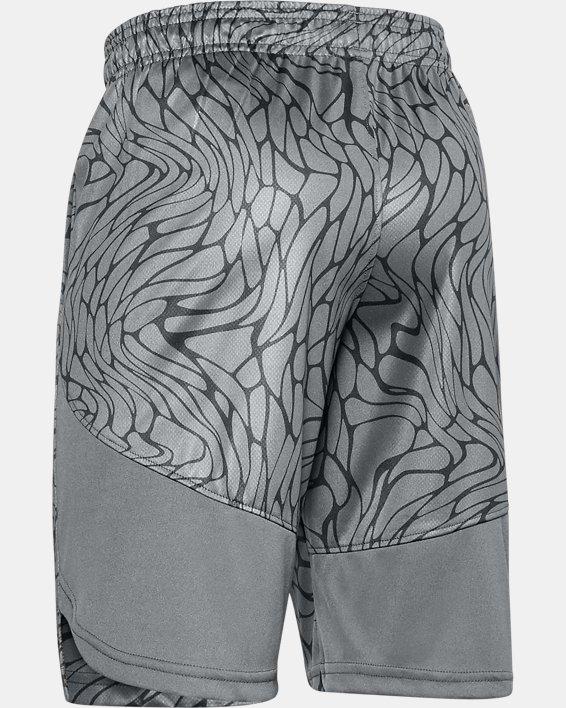 Boys' UA Sun's Out Shorts, Gray, pdpMainDesktop image number 1