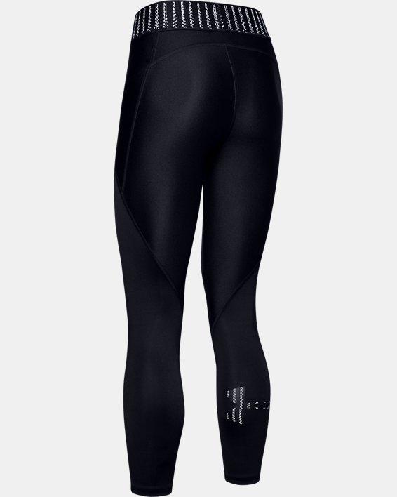 Women's HeatGear® Armour 6M Ankle Crop, Black, pdpMainDesktop image number 4