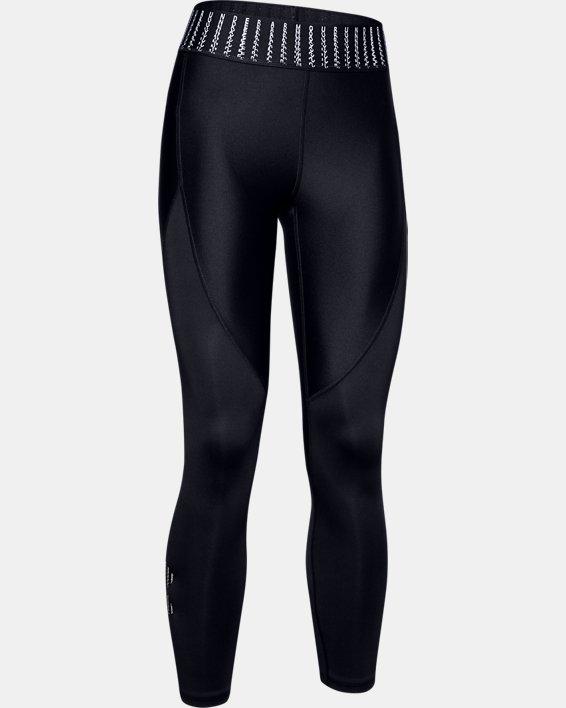 Women's HeatGear® Armour 6M Ankle Crop, Black, pdpMainDesktop image number 3