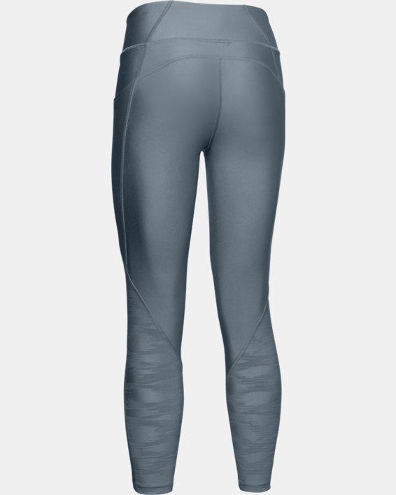 Women's HeatGear® Armour C&S Jacquard Ankle Crop, Green, pdpMainDesktop image number 4