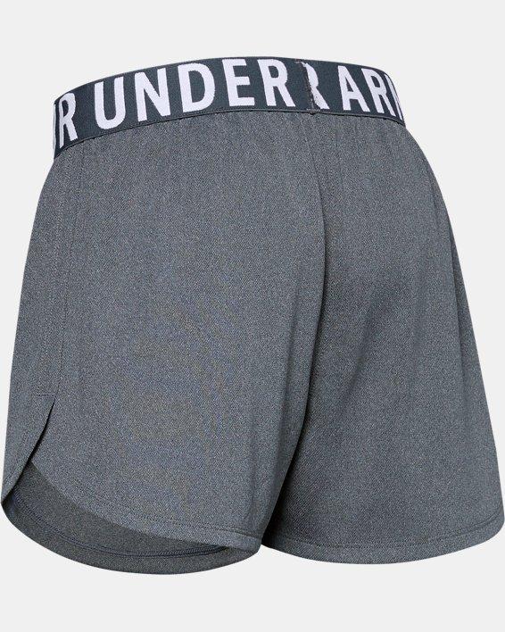 Girls' UA Play Up Solid Shorts, Gray, pdpMainDesktop image number 1
