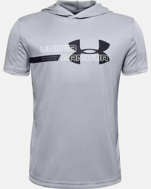 Boys' UA Tech™ Short Sleeve Hoodie