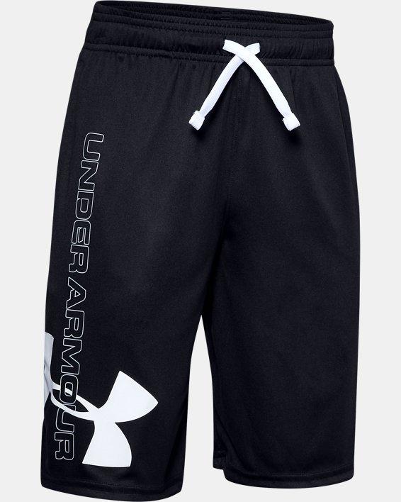 Boys UA Prototype Supersized Shorts, Black, pdpMainDesktop image number 0