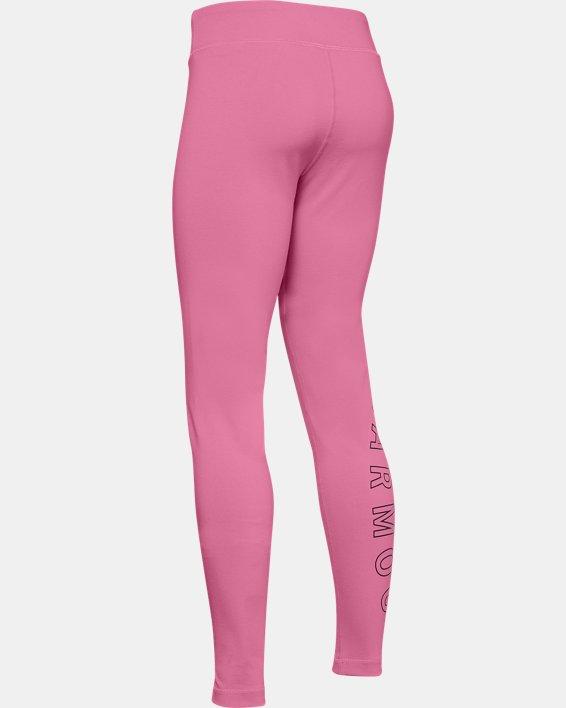 Girls' UA Favorite Leggings, Pink, pdpMainDesktop image number 1