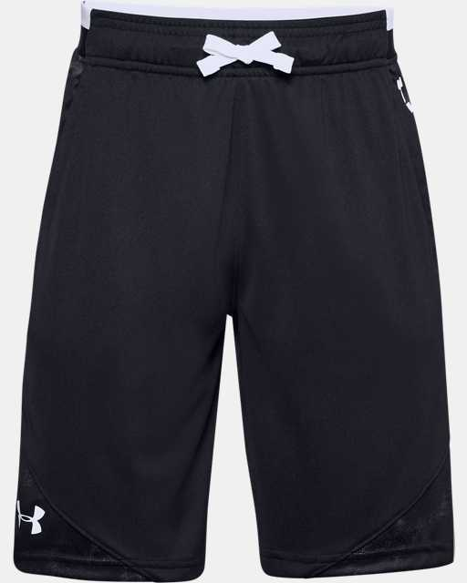 Boys' UA Stunt 2.0 Printed Shorts