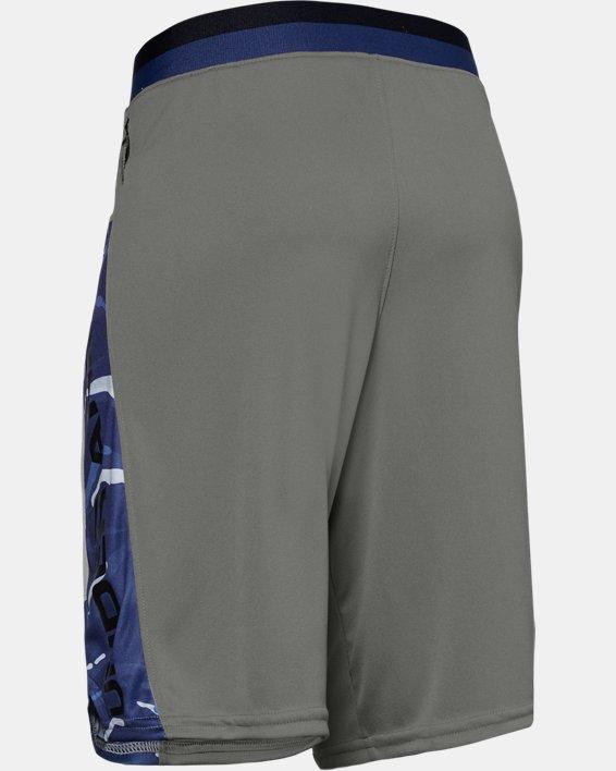 Boys' UA Stunt 2.0 Printed Shorts, Green, pdpMainDesktop image number 1