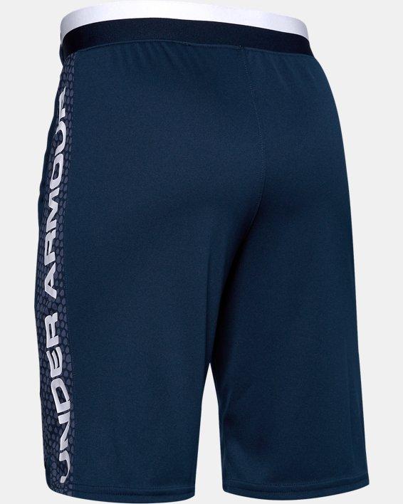 Boys' UA Stunt 2.0 Printed Shorts, Navy, pdpMainDesktop image number 1