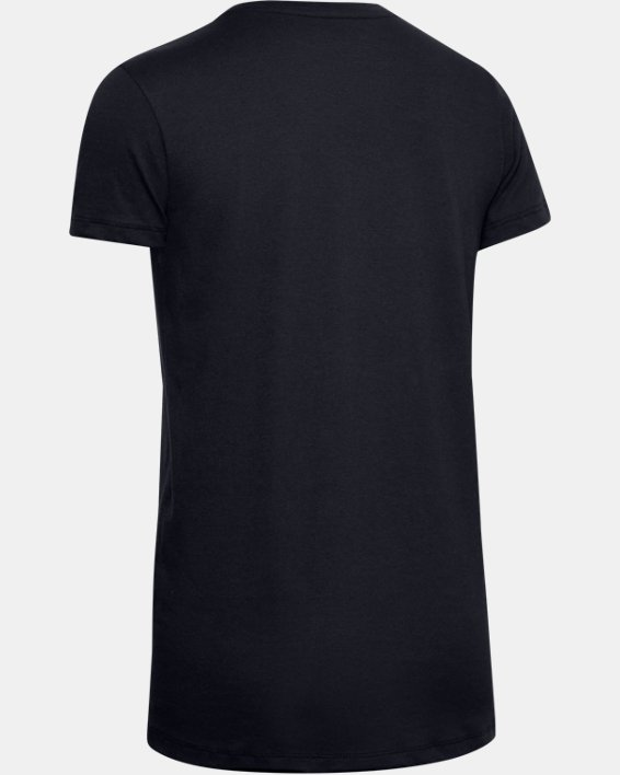 Women's UA Tactical Cotton T-Shirt, Black, pdpMainDesktop image number 5