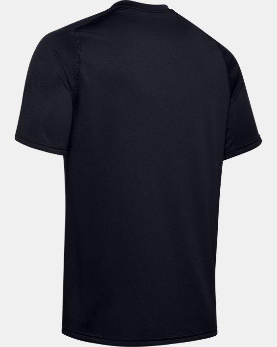 Men's UA Tactical Tech™ V-Neck Short Sleeve, Black, pdpMainDesktop image number 5