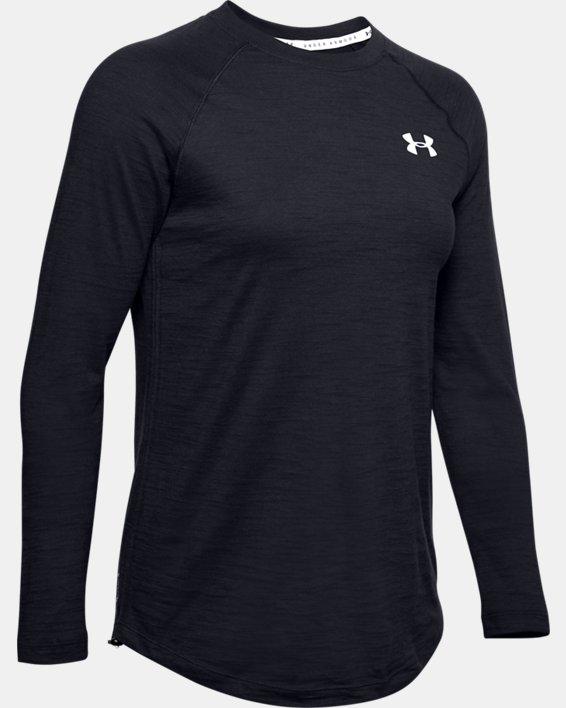 Women's Charged Cotton® Adjustable Long Sleeve, Black, pdpMainDesktop image number 4