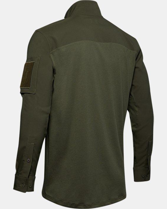 Men's UA Tactical Combat Shirt, Green, pdpMainDesktop image number 4