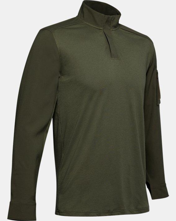 Men's UA Tactical Combat Shirt, Green, pdpMainDesktop image number 3