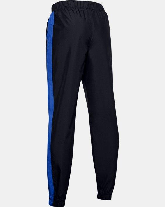 Boys' UA Mesh Lined Pants, Black, pdpMainDesktop image number 1
