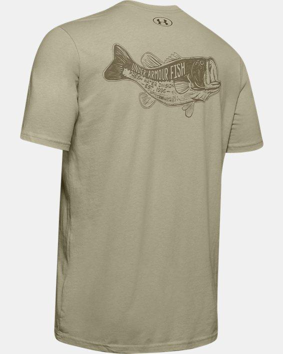 Men's UA Freshwater Division T-Shirt, Brown, pdpMainDesktop image number 4