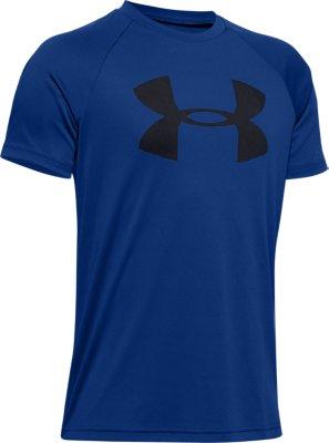 Boys' UA Tech™ Big Logo Short Sleeve | Under Armour