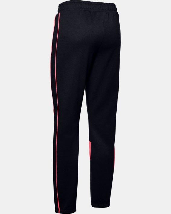 Women's UA Double Knit Pants, Black, pdpMainDesktop image number 5