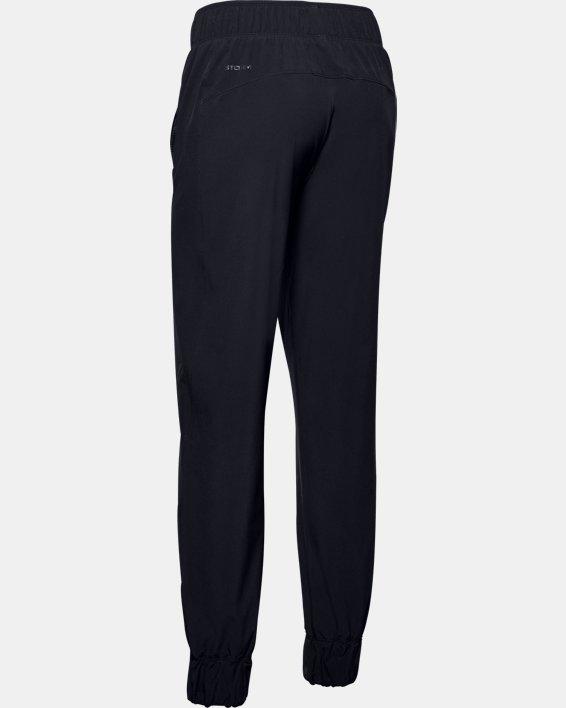 Women's UA Woven Branded Pants, Black, pdpMainDesktop image number 5