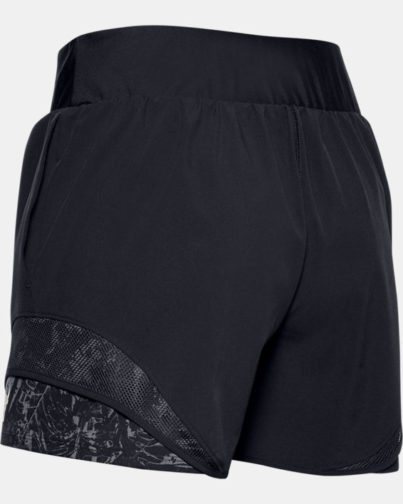 Women's Project Rock Train Shorts, Black, pdpMainDesktop image number 4