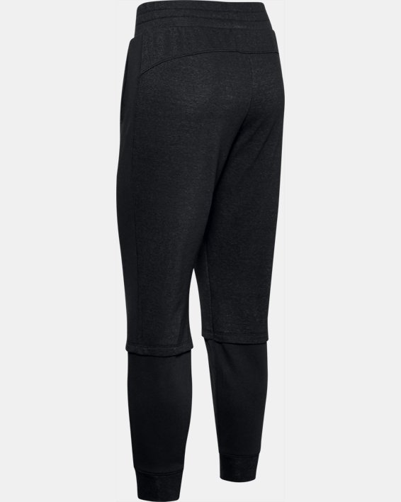 Women's Project Rock Terry Joggers, Black, pdpMainDesktop image number 5