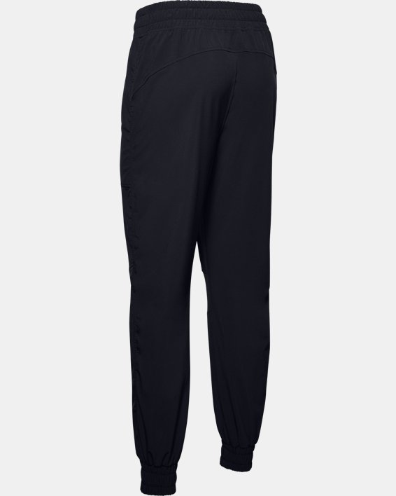 Women's UA RECOVER™ Woven Pants, Black, pdpMainDesktop image number 5