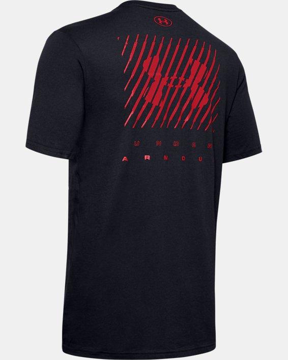 Men's UA Branded Left Chest Graphic Short Sleeve, Black, pdpMainDesktop image number 5