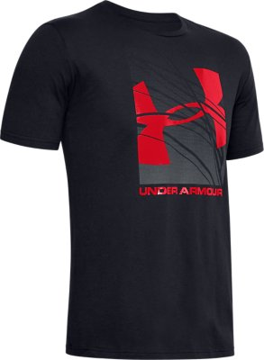 Under Armour Linear Logo Short-Sleeve Shirt Short Sleeve