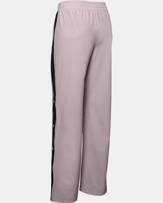 Women's UA RECOVER™ Woven Wide Leg Pants, Pink, pdpMainDesktop image number 4