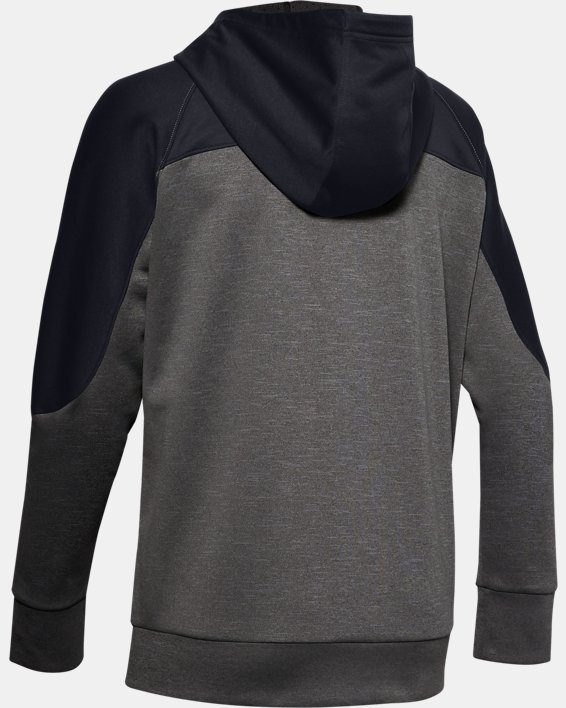 Women's UA RECOVER™ Knit Full Zip, Gray, pdpMainDesktop image number 4