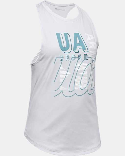 Girls' UA Tech™ Branded Tank